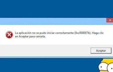 Cómo solucionar el dichoso error 0xc00007b en Windows para siempre