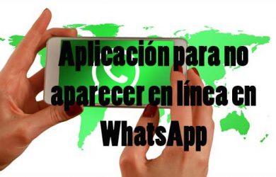 ¿Cuál es la mejor aplicación para no aparecer en línea en Whatsapp?
