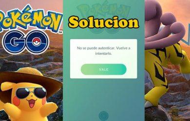 No se puede autenticar Pokemon Go solución definitiva (2018)