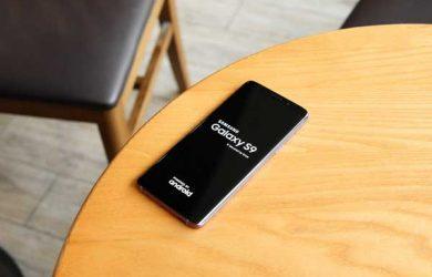 Cómo hacer una captura de pantalla en el Samsung S9 y S9 Plus
