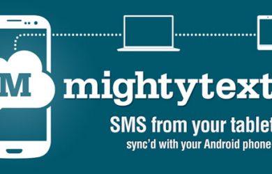 Cómo mandar SMS desde el ordenador con Mightytext