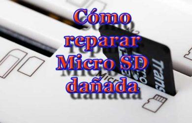 Cómo reparar Micro SD dañada en menos de 1 minuto