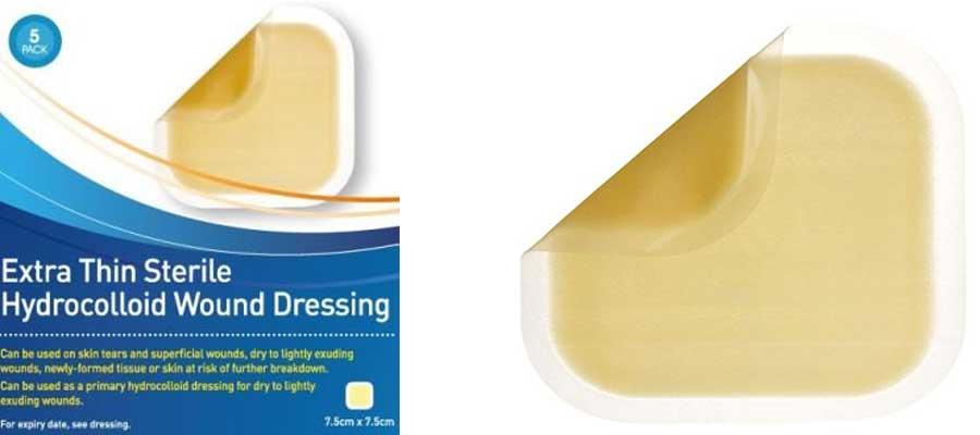 aposito hidrocelular de poliuretano adhesivo