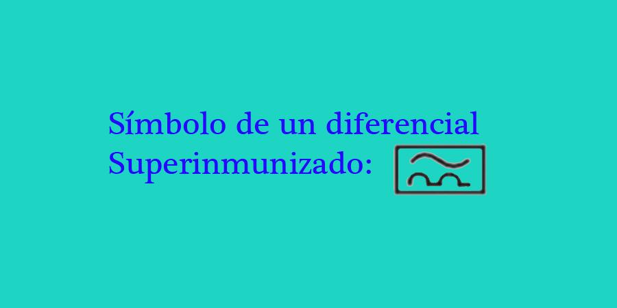 Diferencial superinmunizado nomenclatura