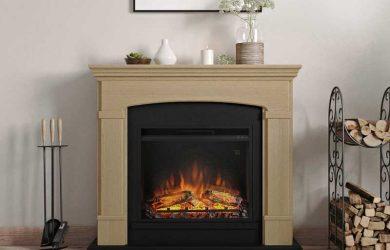 Las chimeneas electricas decorativas con mejor efecto llama