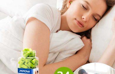 Los tapones para dormir sin ruido, más cómodos y eficaces